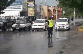 ELEMENTOS DE  TRÁNSITO, ATENTOS  ANTE EVENTUALIDADES Y RECOMIENDAN  PRECAUCIÓN ANTE LLUVIAS