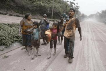 TERRIBLE LA ERUPCIÓN DE VOLCÁN EN GUATEMALA