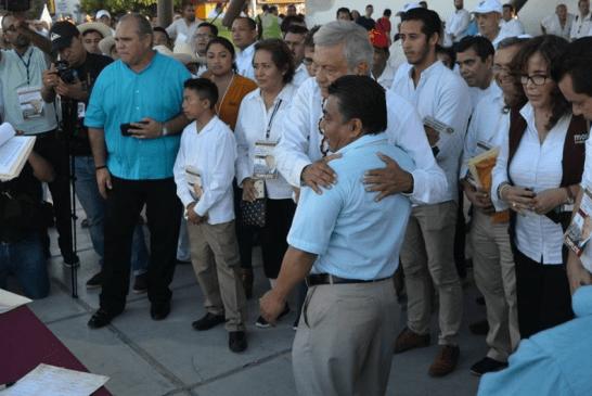 """""""TRINI"""" GUILLÉN NO PUEDE USAR PROPAGANDA DE AMLO: RIVELINO VALDIVIA ES EL CANDIDATO DE MORENA"""