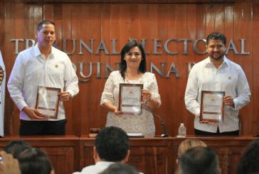 RINDE SU 2 INFORME DE ACTIVIDADES LA PRESIDENTA DEL TEQROO NORA CERÒN GÒNZÀLEZ