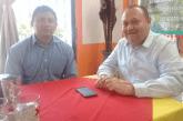 JOSE ESQUIVEL VARGAS SE REUNE CON EL DIRECTOR GENERAL DE PROTECCIÓN CIVIL, ADRIÁN MARTINEZ ORTEGA