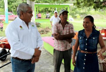 ENTREGA SEDARPE HERRAMIENTAS A JEFAS DE FAMILIA EN MIGUEL ALEMAN Y SACXAN