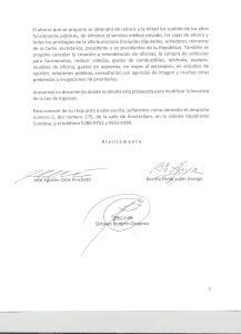 ENTREGA DE DOCUMENTO A LOS PINOS 3 001