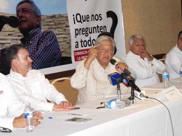 Conferencia AMLO en Sonora