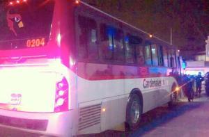 Atracan a pasajeros de la ruta Cardenales, en Chalco.