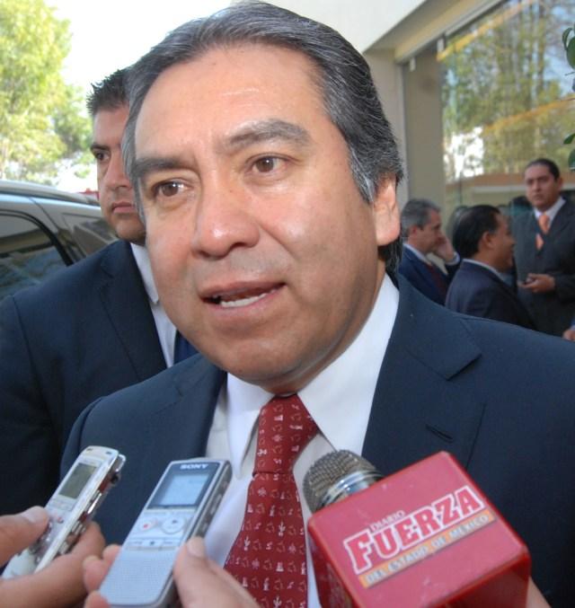 Comisionado de Derechos Humanos del Estado de México Baruch Delgado Carbajal