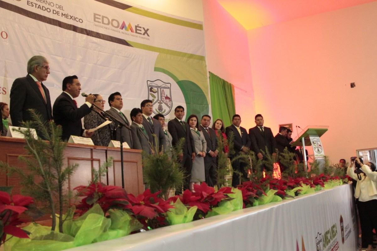 EN AMECAMECA, LA PRIORIDAD SERÁ RECUPERAR LA CONFIANZA DE LOS CIUDADANOS