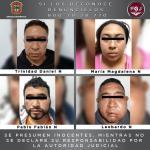 RESCATA FGJEM A MUJER QUE SE ENCONTRABA SECUESTRADA Y DETIENE A CUATRO PERSONAS DURANTE OPERATIVO EN ECATEPEC