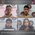 TLALNEPANTLA SENTENCIAN A CUATRO POR ROBOS CON VIOLENCIA A TRANSPORTE PÚBLICO