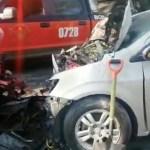 CONDUCTOR EN ESTADO DE EBRIEDAD PROVOCA ACCIDENTE AUTOMOVILÍSTICO EN IZTAPALAPA, HAY UNA PERSONA CON LESIONES GRAVES