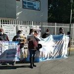 POR EL ASESINATO DE NAOMI EXIGEN JUSTICIA FRENTE AL MINISTERIO PÚBLICO DE CHALCO