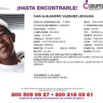 IVAN DESAPARECIÓ DE SU HOGAR EN ZUMPANGO SU FAMILIA LO BUSCA