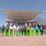 ENTREGAN PAVIMENTACIÓN EN LA CALLE MORELOS Y TECHADO DE FORO EN SANTA ISABEL CHALMA