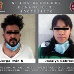 DETIENEN A PAREJA POR UN TRIPLE HOMICIDIO EN TEXCOCO