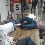 CON ARMAS DE ALTO PODER AGREDEN A 4 EN VALLE DE CHALCO
