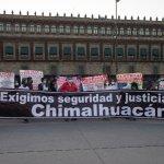HASTA PALACIO NACIONAL LLEGAN A PEDIRLE A AMLO QUE ORDENE OPERATIVOS PARA CHIMALHUACÁN CONTRA LA INSEGURIDAD
