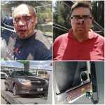 POLICÍA DE ECATEPEC PERSIGUEN A LADRONES DE AUTOS HASTA LA CDMX