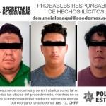 ROBAN MOTO EN CHALCO, PERO LA POLICÍA CAPTURAN A 3
