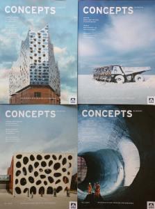 concepts-Ausgaben 2015 und 2016