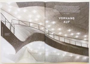 Einblick in die Elbphilharmonie