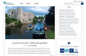 Blog Vielfalt Leben, Beispiel Leicester