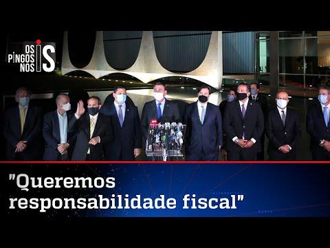 Íntegra do pronunciamento de Bolsonaro e parlamentares
