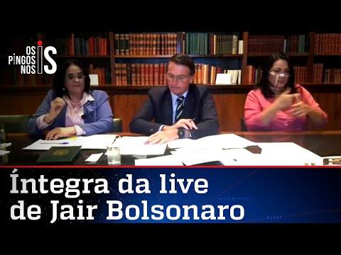 Íntegra da live de Jair Bolsonaro de 27/08/20