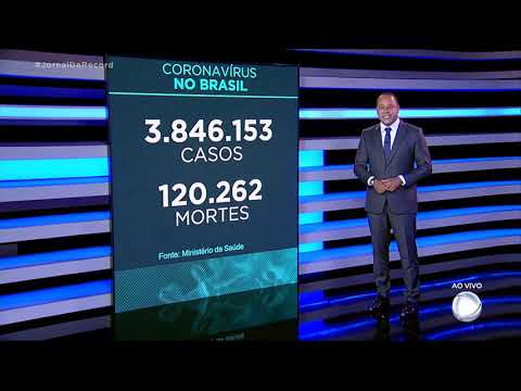 Cornavírus: Brasil registra 758 mortes nas últimas 24 horas