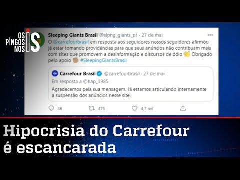 Carrefour já recebeu ordens do Sleeping Giants