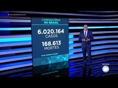 Brasil ultrapassa a marca de 6 milhões de casos de coronavírus