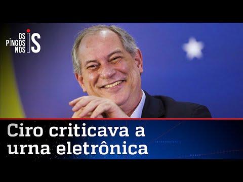Relembre: Ciro Gomes já defendeu o voto impresso