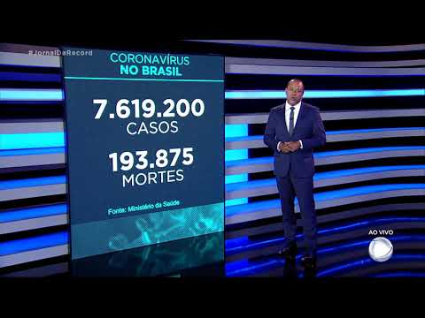 Coronavírus: Brasil registra 193.875 mortes, 1.194 nas últimas 24 horas