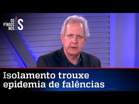 Augusto Nunes: Povo não aguenta mais ficar preso em casa