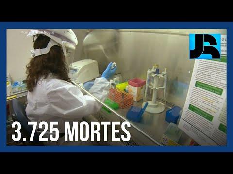 EUA registram recorde de mortes e detectam segundo caso de mutação do coronavírus
