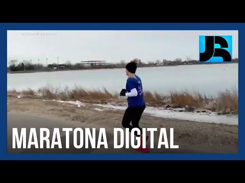 Corredores de todo o mundo participam do formato digital da Maratona de Tel Aviv
