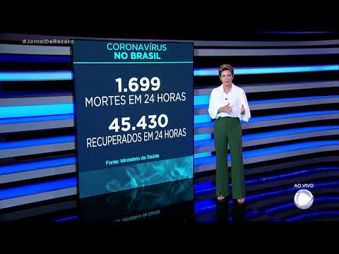 Coronavírus: Brasil registra 260.970 mortes, 1.699 nas últimas 24 horas