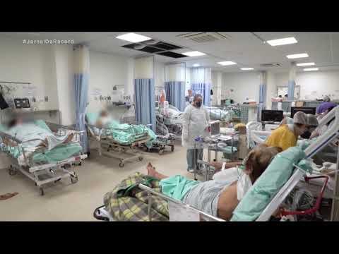 Pazuello visita cidade de Cascavel (PR), que enfrenta colapso nos hospitais