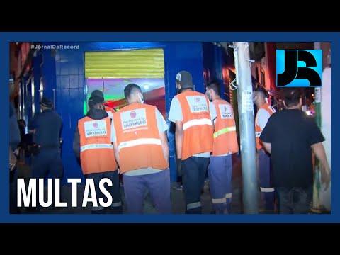 Bares são multados por desrespeito ao toque de recolher em São Paulo