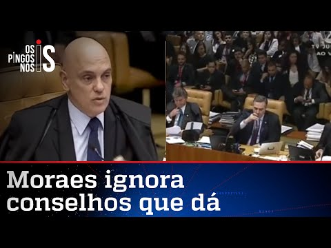 """Relembre – Alexandre de Moraes disse a Barroso: """"Cada um no seu quadrado"""""""