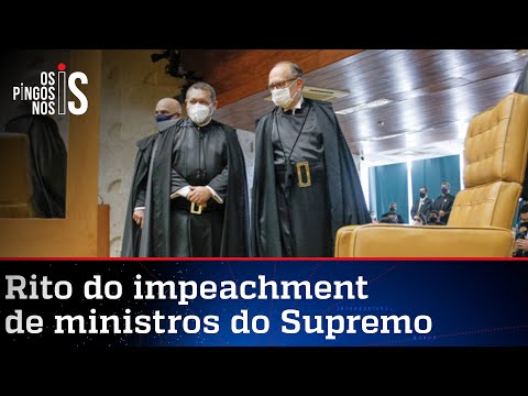 Entenda como ocorre o impeachment de um ministro do STF