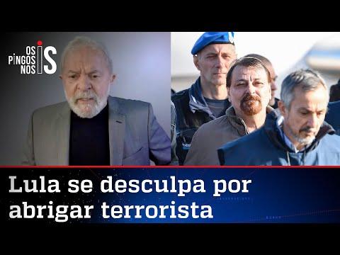 Lula pede perdão por caso Battisti e joga culpa no colo de Tarso Genro