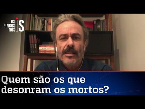 """Fiuza: Quem espera números redondos para falar """"Bolsonaro genocida"""" afronta os mortos"""