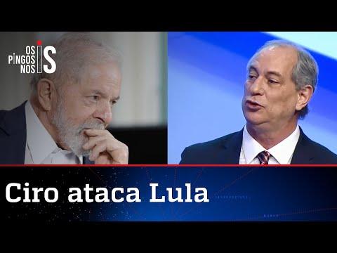Ciro resolve dizer a verdade sobre Lula: Maior corruptor da história