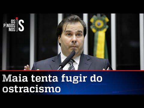 Rodrigo Maia reaparece para atacar Bolsonaro