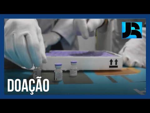 Doses da vacina da Pfizer serão doadas para atletas que vão participar das Olimpíadas