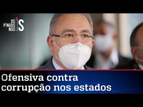 Queiroga fecha o cerco contra governadores corruptos