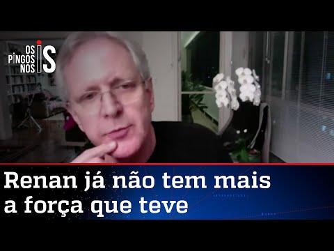 Augusto Nunes: Acabou o período de poder de Renan Calheiros no Senado