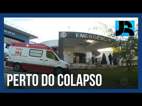 Com UTIs lotadas, Santa Catarina volta a ter todas as regiões em nível gravíssimo para a covid-19