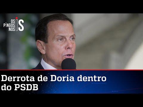 Modelo de prévias do PSDB coloca nova derrota na conta de Doria