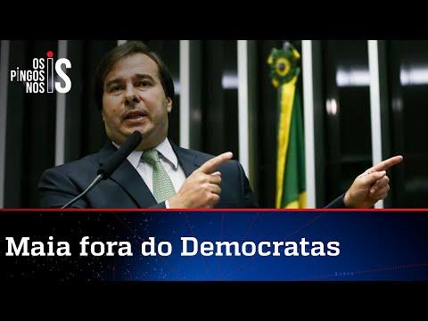 DEM se livra de Rodrigo Maia, que busca novo partido